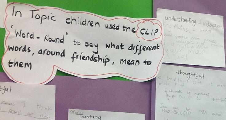 Ms Horne's class on social skills
