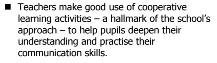 stalham-academy-ofsted-extract