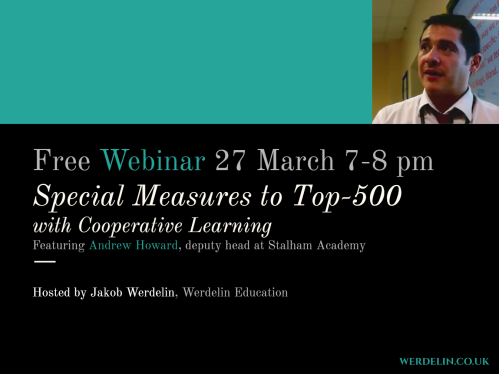webinar slide Special Measures to Top500