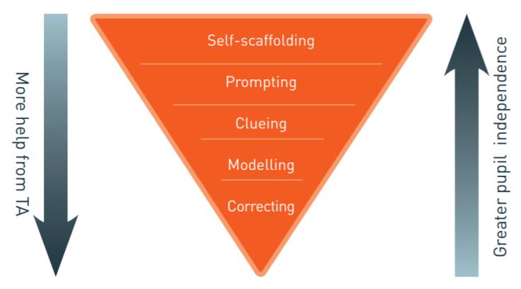 TA scaffolding framework