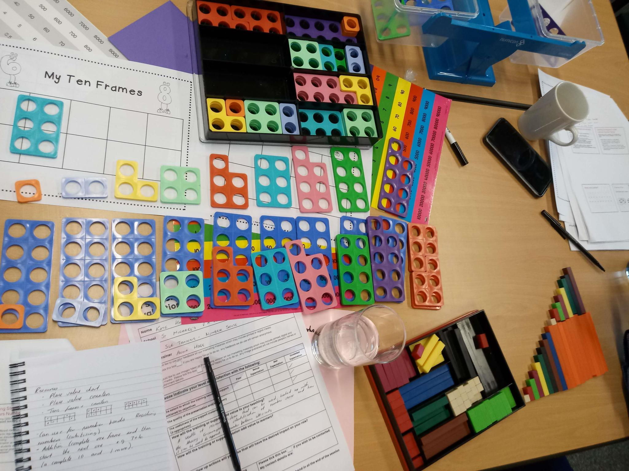 SSIF training maths kit A