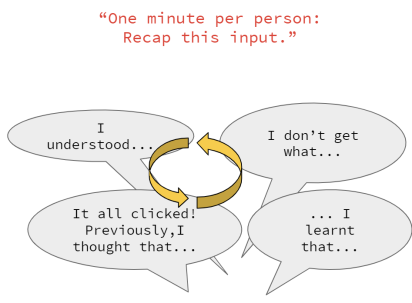 Word-Round sample starter speech bubbles